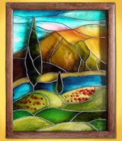 витражная роспись по стеклу для начинающих