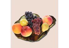 Ваза для фруктов, в форме листа.