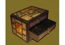 Сундук со сказками.<br />Декорированный азулежу.